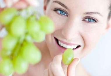 Виноград помогает сохранить фигуру