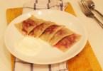 Равиоли со свёклой, изюмом и грецкими орехами
