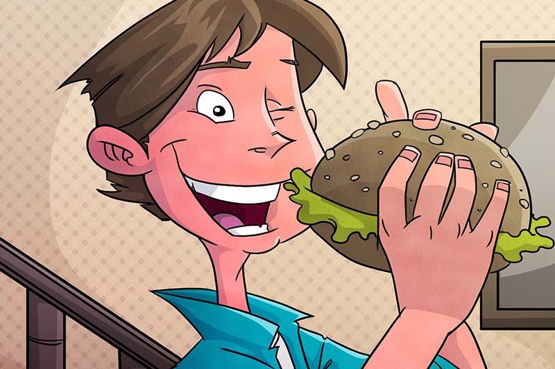 Рестораны быстрого питания и мозг