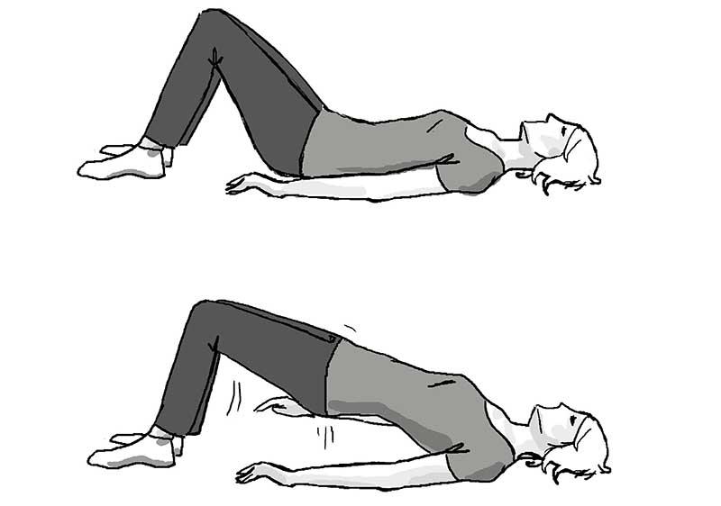 Укрепляем мышцы брюшного пресса