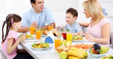 Условия правильного пищеварения. Правило № 1