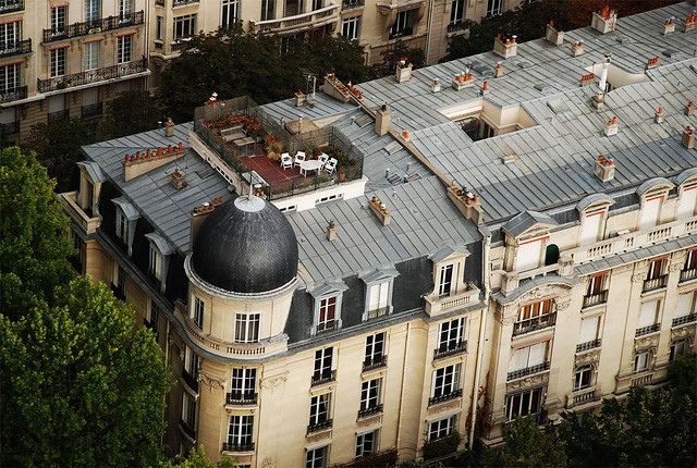 Immeuble parisien. (photo d'illustration flickr/liquidskyarts)