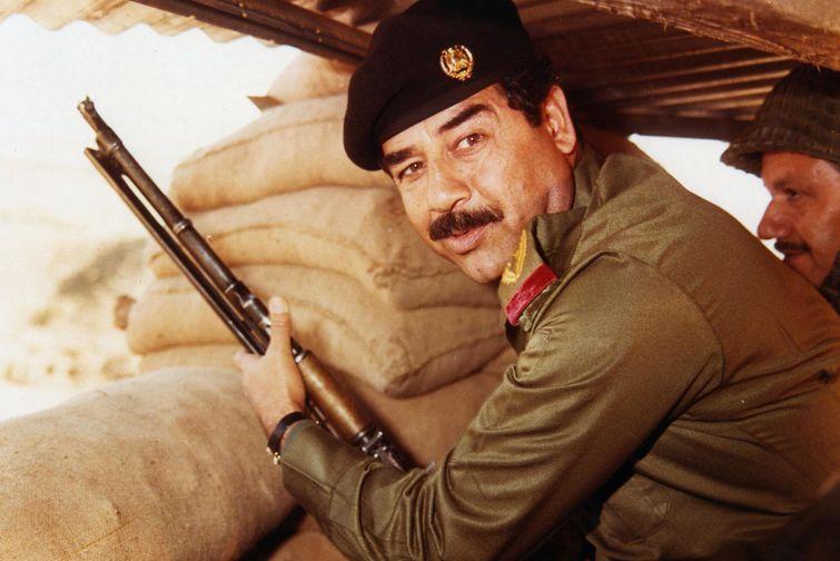 Saddam Hussein. (photo wikipedia)