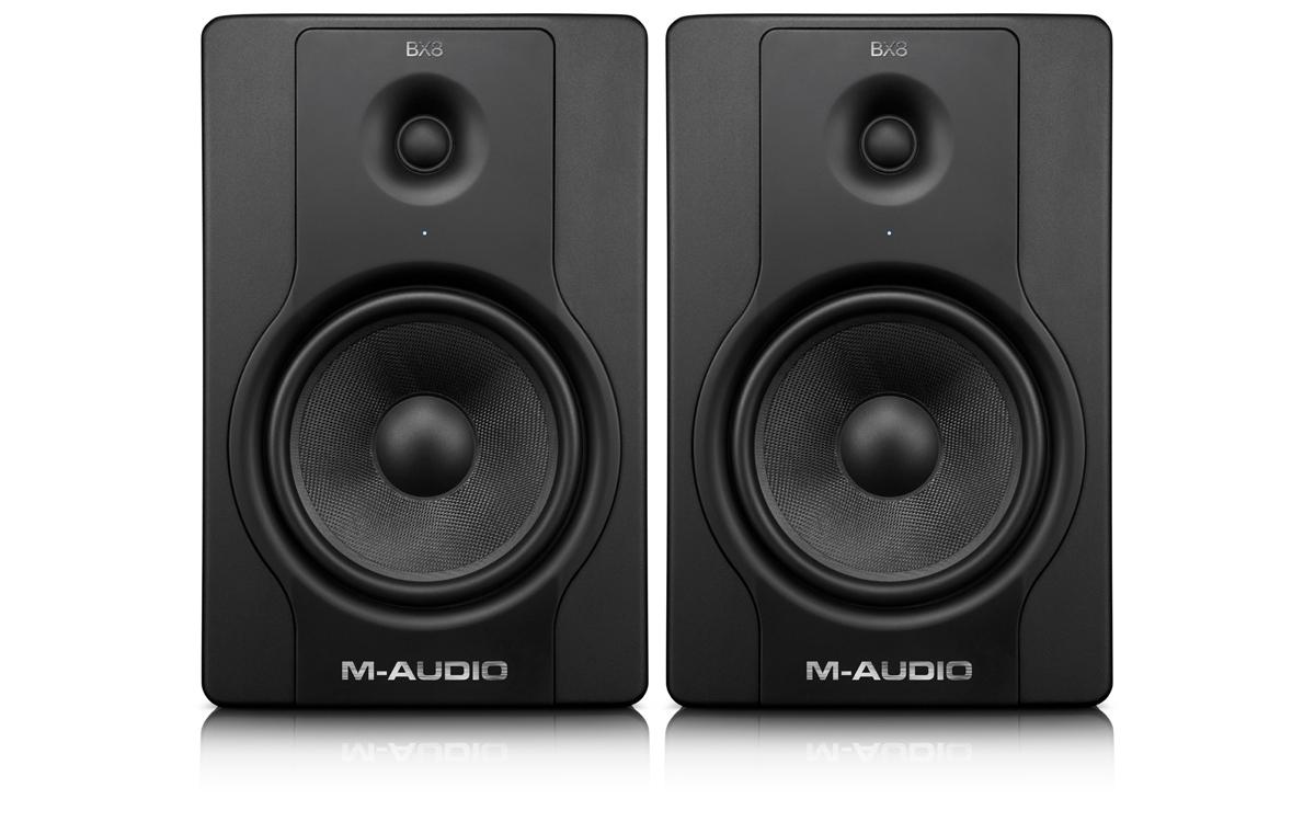 monitor de referência m audio bx 8