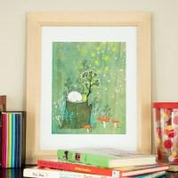 Midsummer, 11x14 Framed Nursery Wall Art | eBay