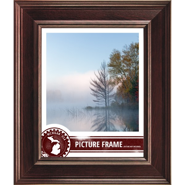 Craig Frames Rosewood Contemporary Burgundy Red Wood Frame