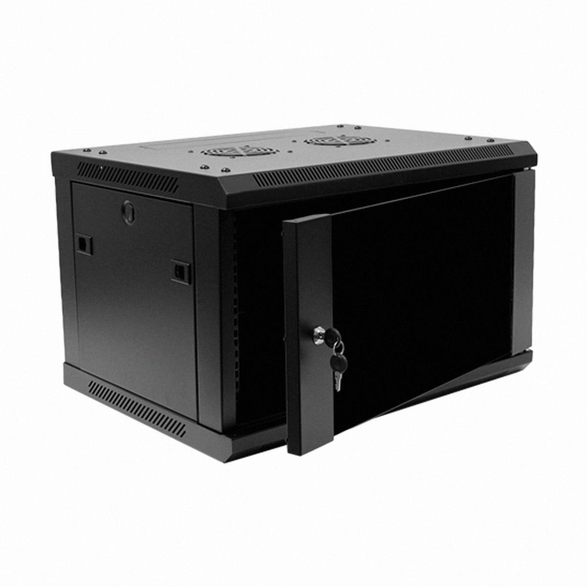 6U IT Wall Mount Network Server Data Cabinet Rack Glass Door Locking Lock  Key  eBay