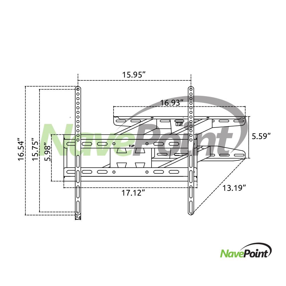 Wall Mount Sceptre Inc. 32-Inch 720p LED TV Tilt Slim