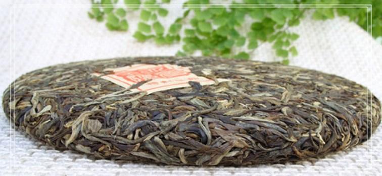 Puer Tea 雲南易武圓茶 2006年 生普