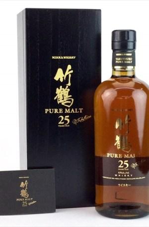 Taketsuru 25Y Whisky 竹鶴 25年威士忌