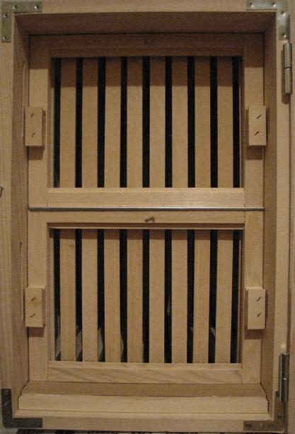 Back frames of 20 frame hive
