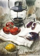 八頭畫室美術課堂示範-水彩 (3)