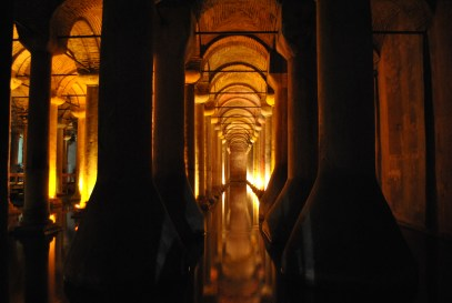 GLOWING AT THE CISTERN