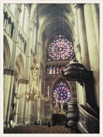 reims cathedral interior detail
