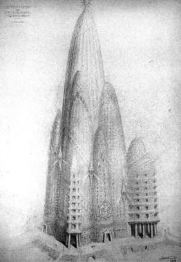 Antoni Gaudi - New York City Hotel