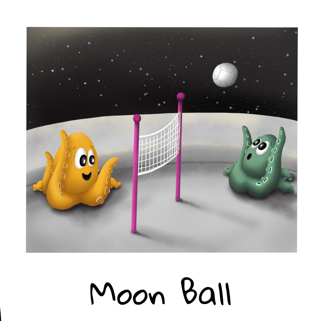 Vacation Time! Moon Ball