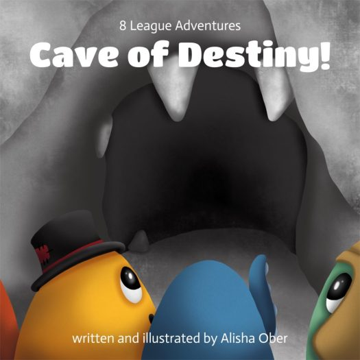 8 League Adventures: Cave of Destiny! front cover
