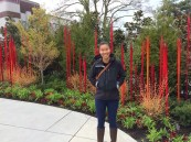 In the Chihuly garden