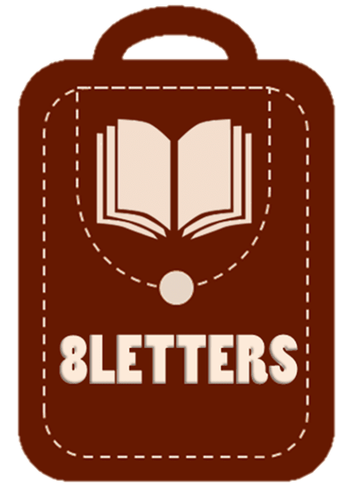 8Letters Bookstore and Publishing Logo