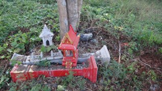 Discarded Spirit Houses - Chiang Mai Thailand