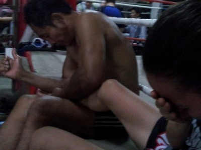Massage for shins with bruising, swelling, knots, - injury Muay Thai - Nook at Lanna-w1200