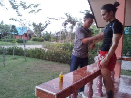 Massage Dropping Weight - Muay Thai - Sylvie
