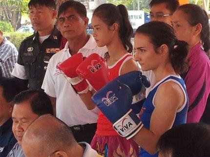 Nong Mai Sit Rapee and Sylvie von Duuglas-Ittu
