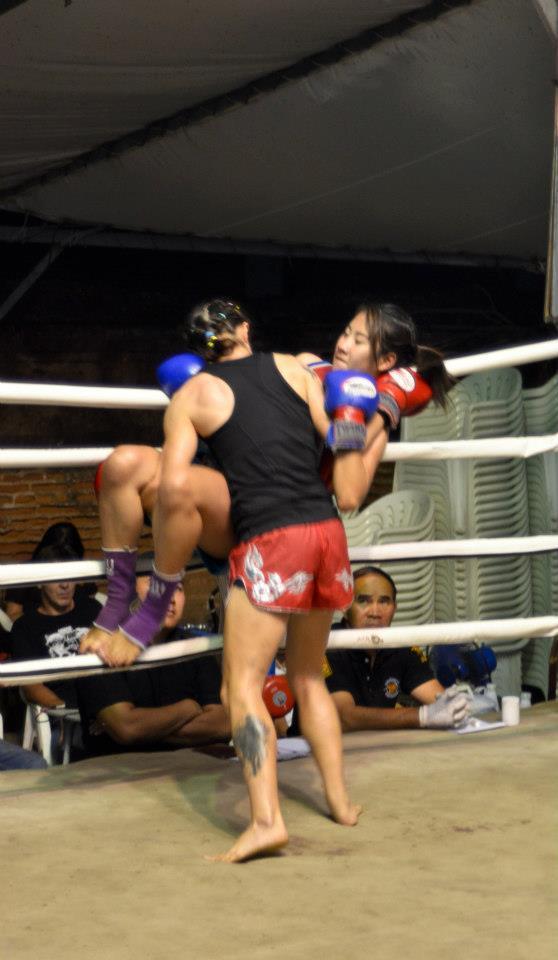 Sylvie von Duuglas-Ittu - throw, muay thai