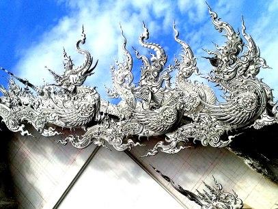 Elephant to Dragon detail White Temple