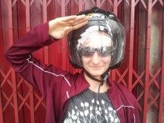 Motorcycle Helment - Chiang Mai - Sylvie