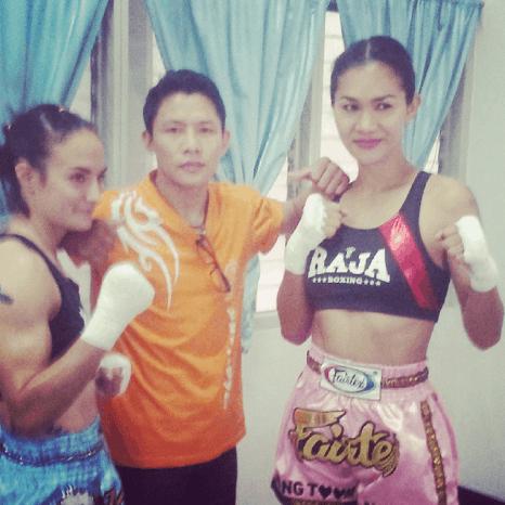 Sylvie von Duuglas-Ittu, Den, Nong Toom - Muay Thai - Muay Thai Warriors