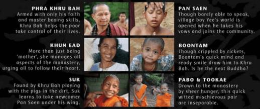 cast of Buddha's Lost Children