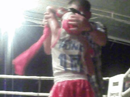 PhetJee Jaa - female Child Fighter - Muay Thai