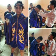 Poda Tanadet - Muay Thai - Tor. Pran 49 - before the fight