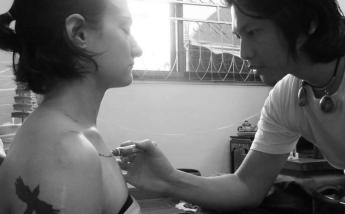 Arjan Pi Bangkating - Freehand spirtual tattoo - Sylvie