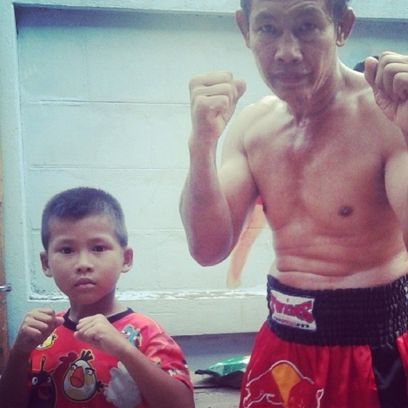 Nook and Bam - Muay Thai fighters