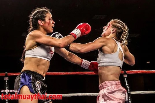 Miriam Nakamoto vs Aleide Lawant - WBC Championship Muay Thai