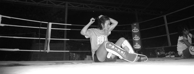 Sylvie and PhetJee Jaa - Muay Thai