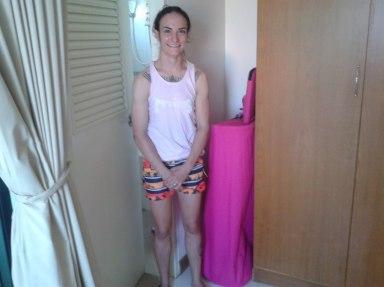 Sylvie von Duuglas - Closet Sauna - Heat Conditioning Muay Thai