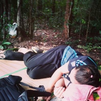 Sylvie sleeping with Jai Dee before fight 84 - Muay Thai