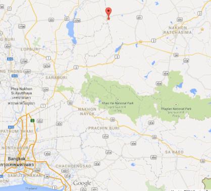 Banrai Jomthong Resort - Google Map - Resort - Thailand
