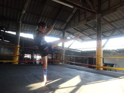 Ikkari - Sylvie von Duuglas-Ittu - shadow boxing