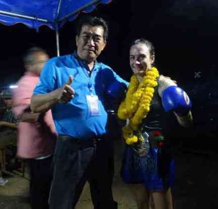 Muay Siam Official at the 105 lb Northern Champion Fight-001