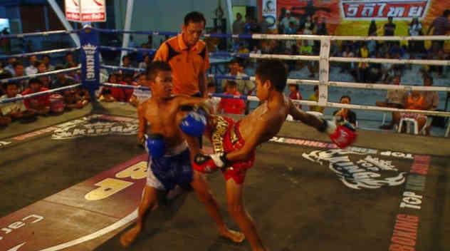 Thailand waist up strikes - scoring