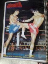 Sagat Petchyindee - Magazine Cover Muay Thai - 8limbs.us
