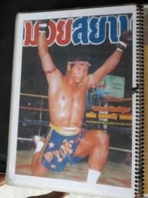 Sagat Petchyindee - Muay Thai Magazine Cover
