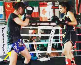 Undershorts - Muay Thai - Sylvie etiquette