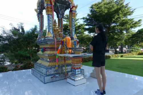 Angie Petchrungruang - Transgender Fighter At Lumpinee - shrine