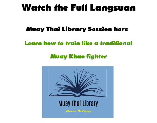 Langsuan Muayy Thai Library