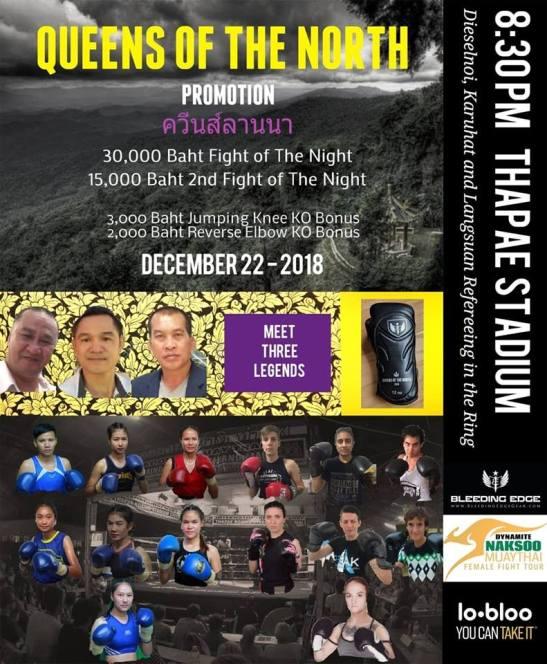 fight card - Muay Khao Summit